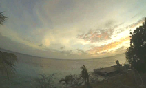 Bonaire Gopro timelapse of 2014-06-07 sunset